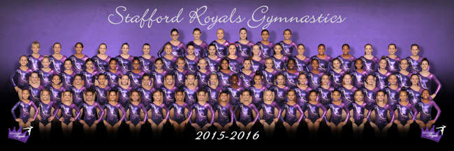 2015-2016 Stafford Royals Competitive Team